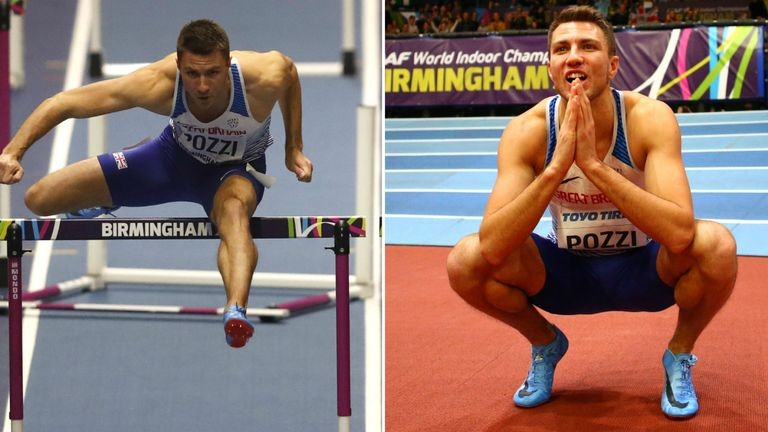 Andrew Pozzi on being world champion and targeting Commonwealth Games glory