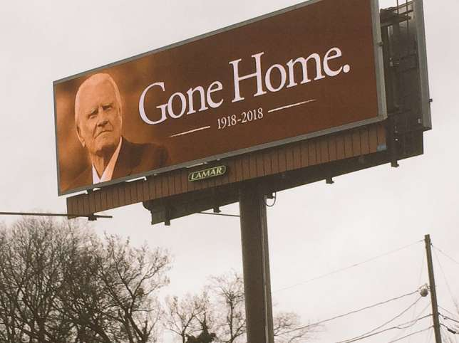 'Death of Billy Graham will usher in last days' - prophecy