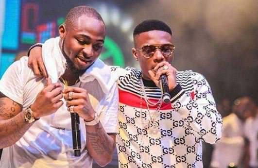 Wizkid You've got to see Davido's hilarious reaction to singer's new goat
