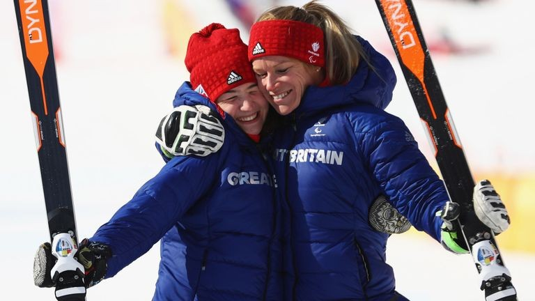 Menna Fitzpatrick and Jen Kehoe win second Winter Paralympics medal