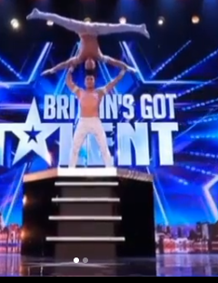 video: Wow! Check out this crazy acrobatic stunt you on Britains Got Talent