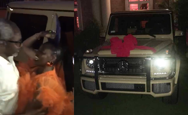 House of Reps Majority Leader, Femi Gbajabiamila buys wife N75m G-Wagon with a customized 'Assurance' licence plates for her 50th birthday