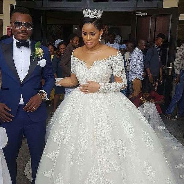 Nigerian striker Emmanuel emenike weds ex-beauty queen Iheoma