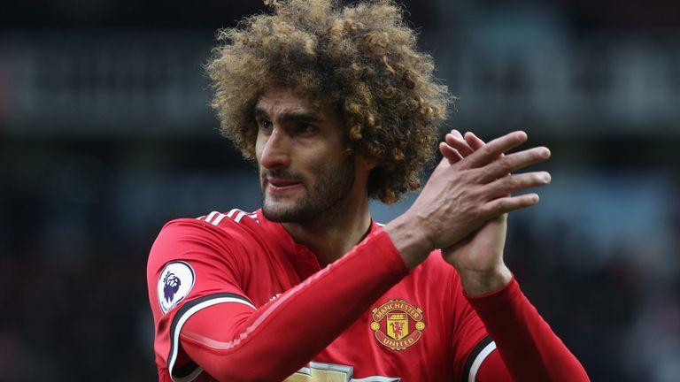 Marouane Fellaini representative expected in Manchester to continue new contract talks