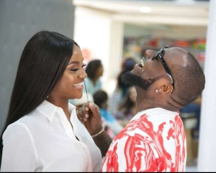 wow!! an exam question for students of Yaba Tech made with Davido and Chioma's love story
