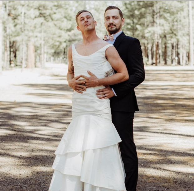 A Bride Made Her Brother Take Her Place In Her Wedding