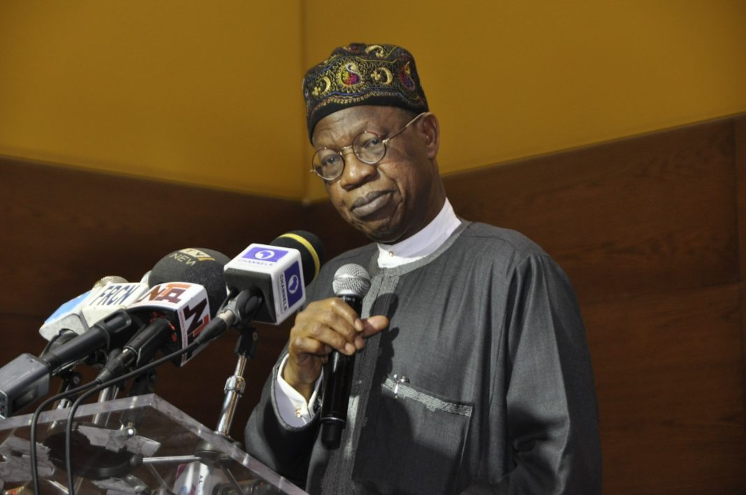 Banditry, kidnapping, herdsmen crisis leading to calls for Nigeria's breakup – Lai Mohammed