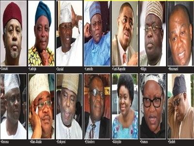 FFK, Orji Uzor Kalu, Suswam, Olisa Metuh, Dasuki, make list of 50 prominent Nigerians banned from traveling
