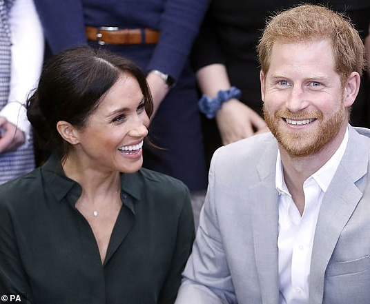 Forensic artist predicts what Meghan and Harry's baby will look like using photos of the couple (photos)
