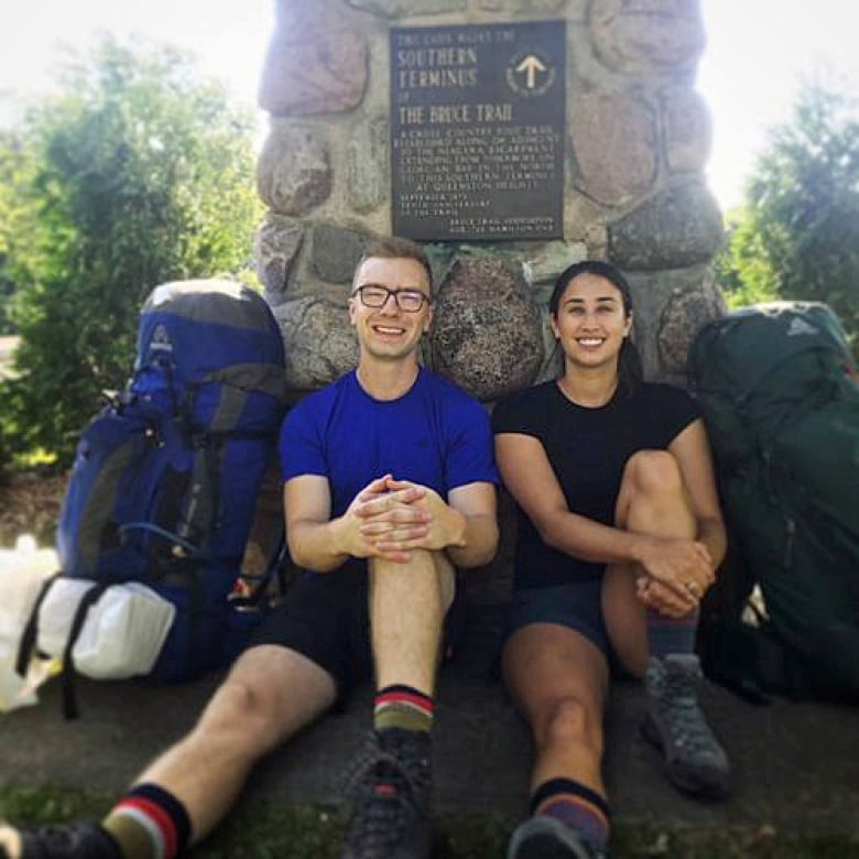How to get to know Ontario in a month: Couple walks 900 km Bruce Trail in 5 weeks
