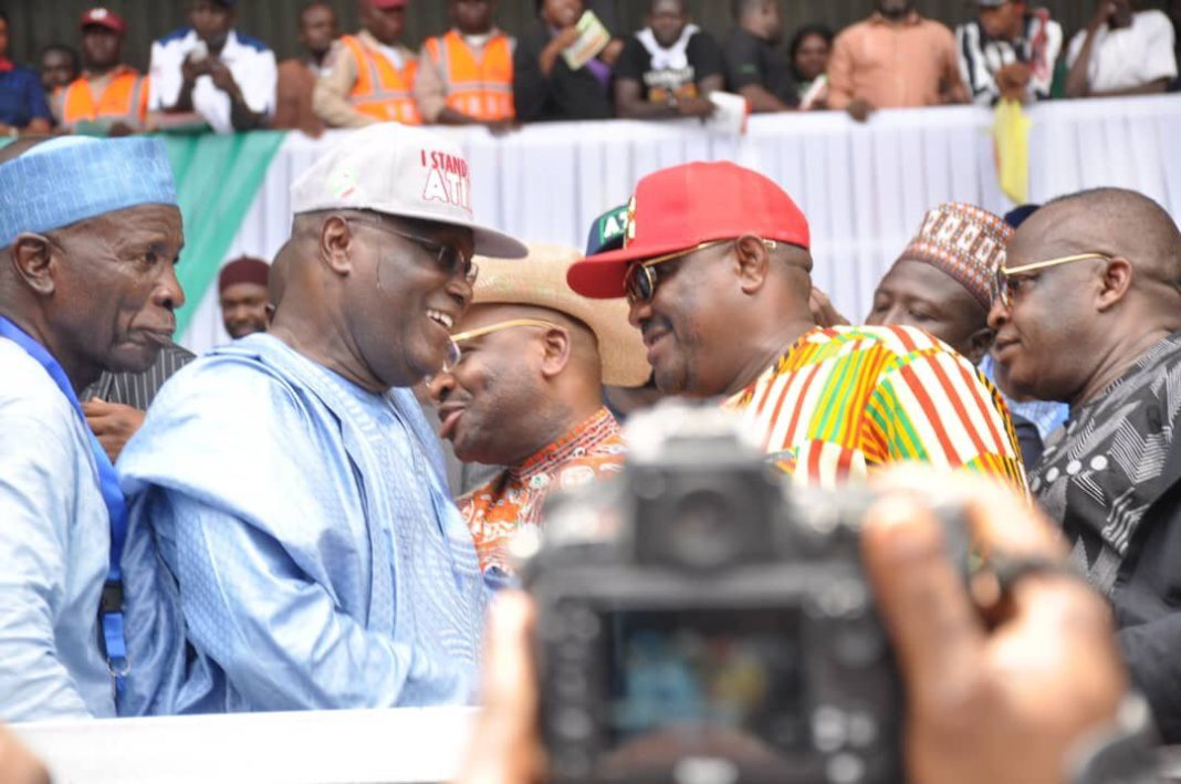 How Wike reacted to Atiku's victory after presidential primary