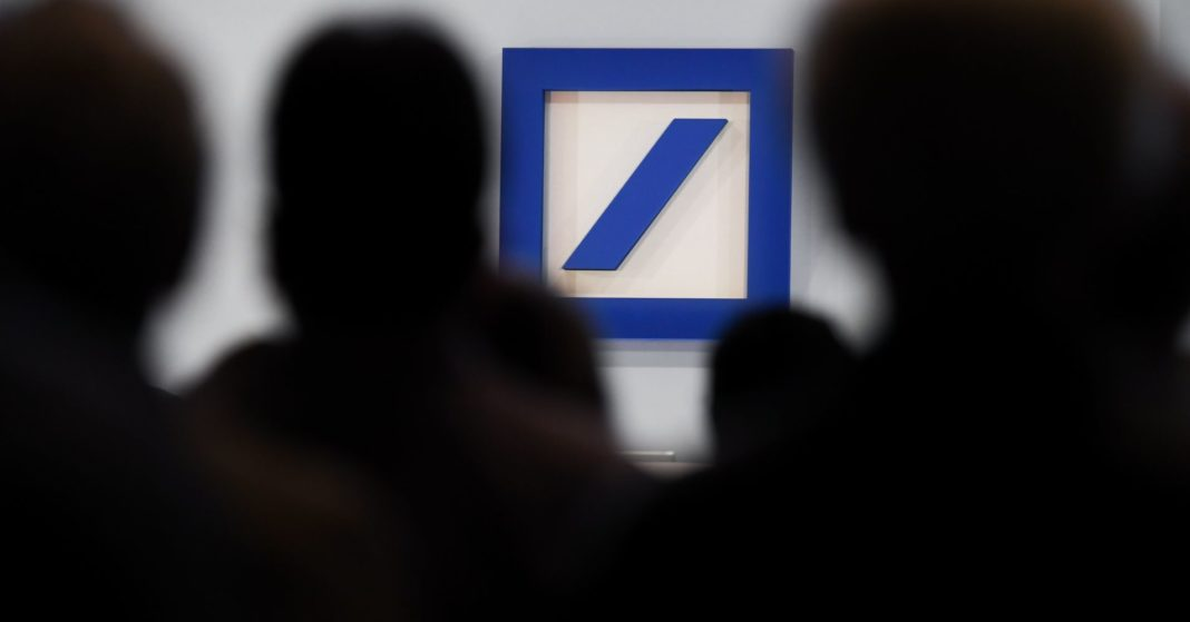 Deutsche Bank shares hit a record low as it gets drawn into the Danske scandal