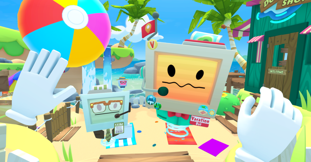 How Owlchemy's new virtual reality game turns vacationing into another job robots take from humans