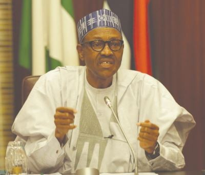 It's unacceptable for APC to forbid aggrievedmembers from dragging the party to court - President Buhari