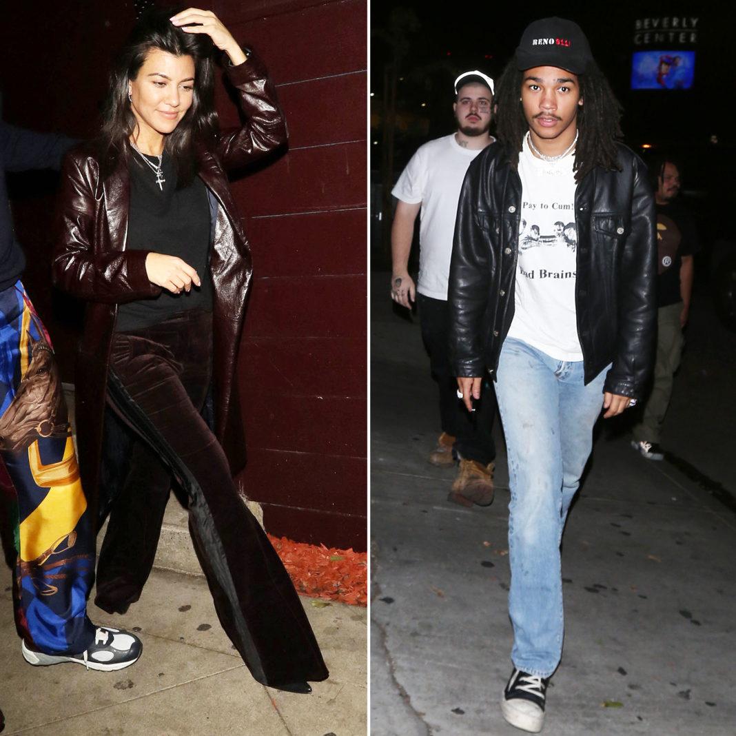 Kourtney Kardashian Attends Luka Sabbat's B-Day Party After Romance Rumors