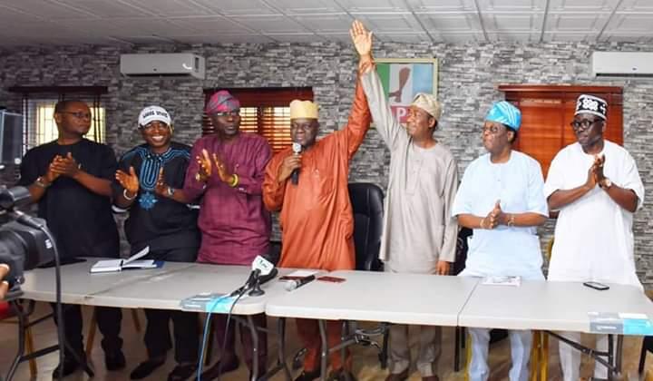 Lagos: APC presents former Commissioner, Obafemi Hamzat as Sanwo-Olu's running-mate