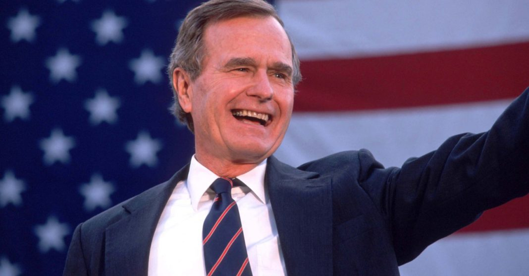 Former President George HW Bush, who led the world out of the Cold War, dead at age 94