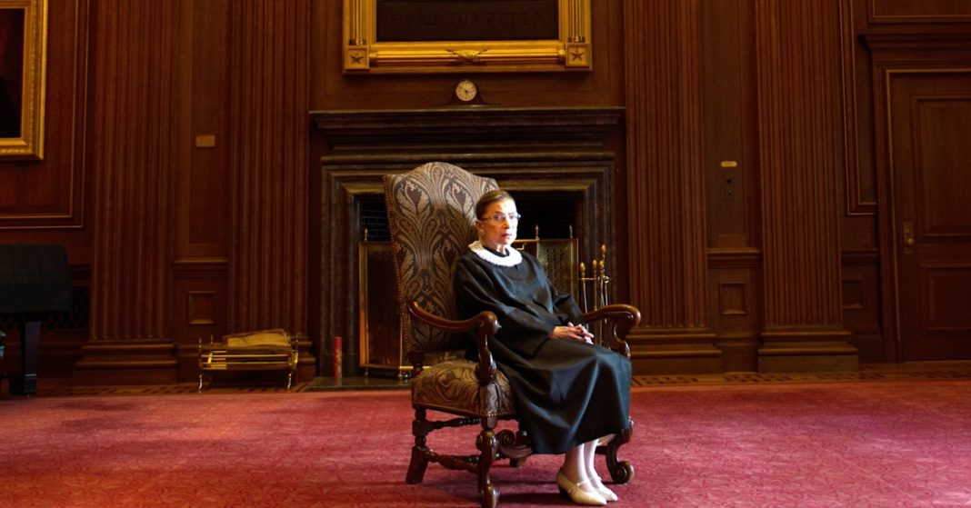 Justice Ruth Bader Ginsburg released from hospital, recuperating at home