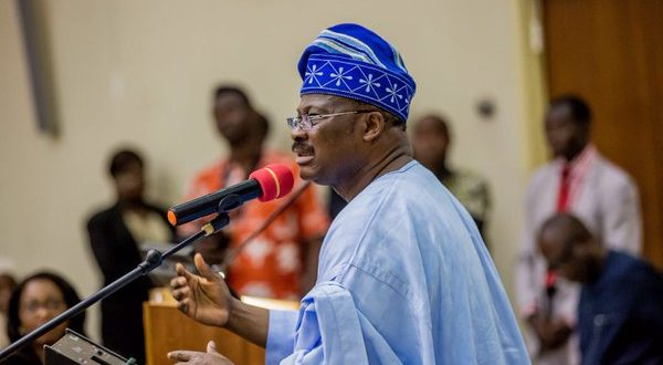 2019 election: Ajimobi warns NURTW, RTEAN members against being used to cause mayhem