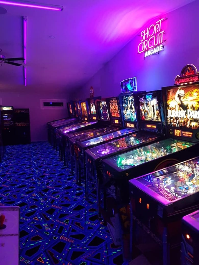 Alberta Couple Turn Their Garage Into Awesome Vintage Arcade