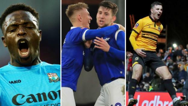 FA Cup round-up: Barnet, Oldham, Newport, Callum Lang, Phil Foden, Padraig Amond