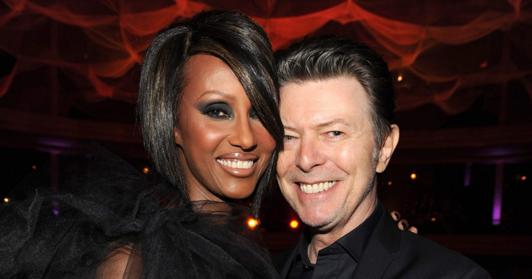 Iman Honors Late Husband David Bowie on His 72nd Birthday