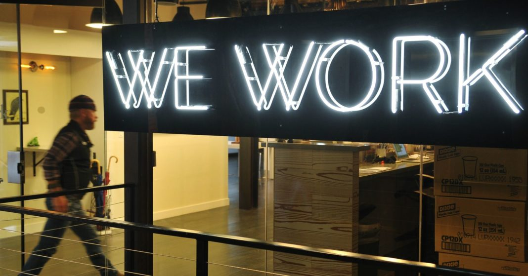 SoftBank invests billions less in WeWork than it originally planned, and now WeWork is rebranding