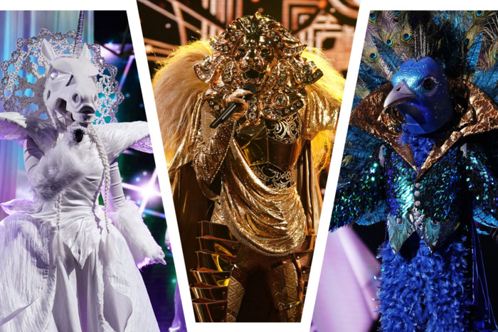 Who Are the Thirsty Celebs on The Masked Singer?  the Peacock onThe Masked Singer?
