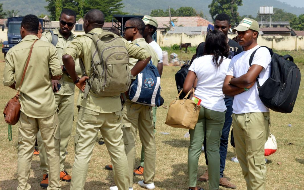 Corps members, other ad-hoc staff protest replacement by INEC in Cross River