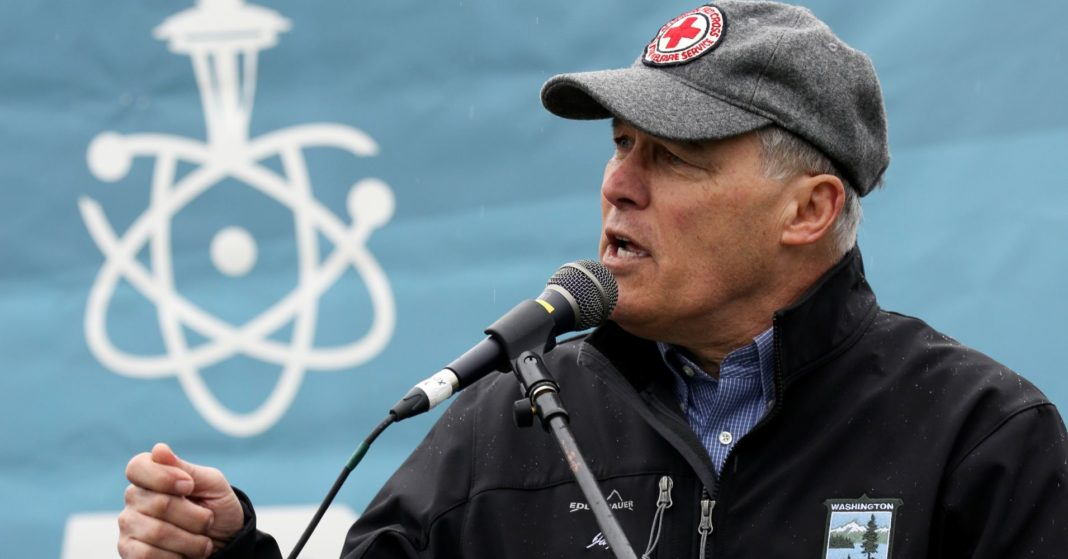 Jay Inslee wants to be the 'carbon warrior' in a presidential race defined by taxing the rich