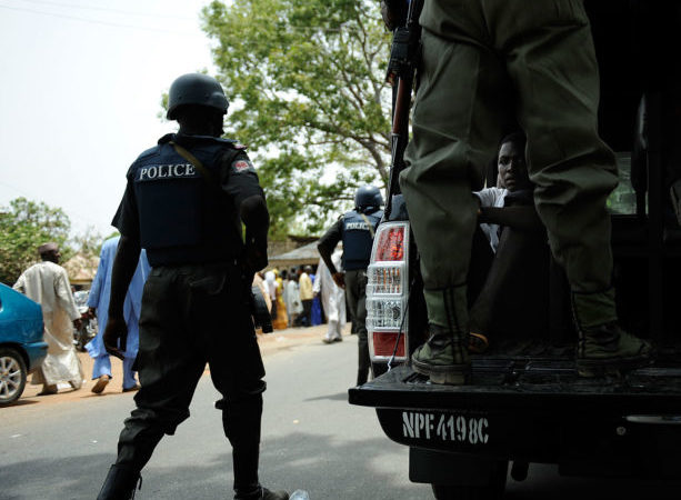 Nigeria election: Police arrest 128 for ballot snatching, recover explosives