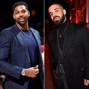 Tristan Thompson Has 'Guys Night' With Drake Amid Khloe K. Split Speculation