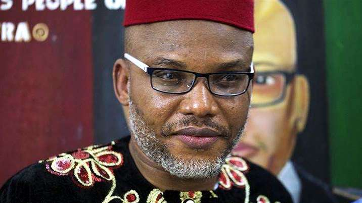 Biafra: Nnamdi Kanu threatens to drag FG to UK court, reveals why he can't be arrested