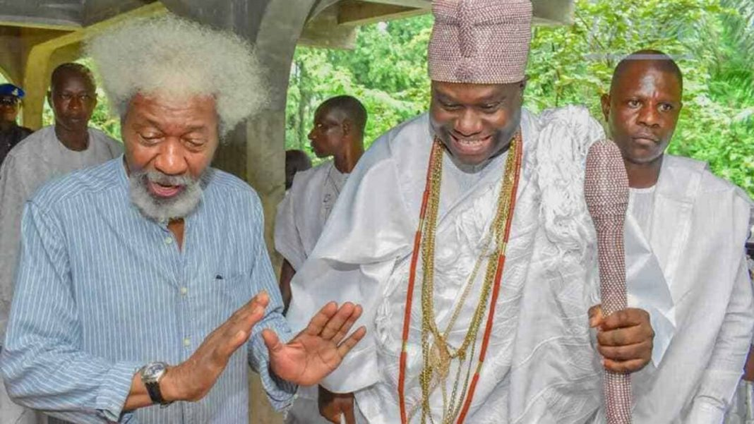 Ruga: Ooni Of Ife, Wole Soyinka tell Nigerians to defend their ancestral lands
