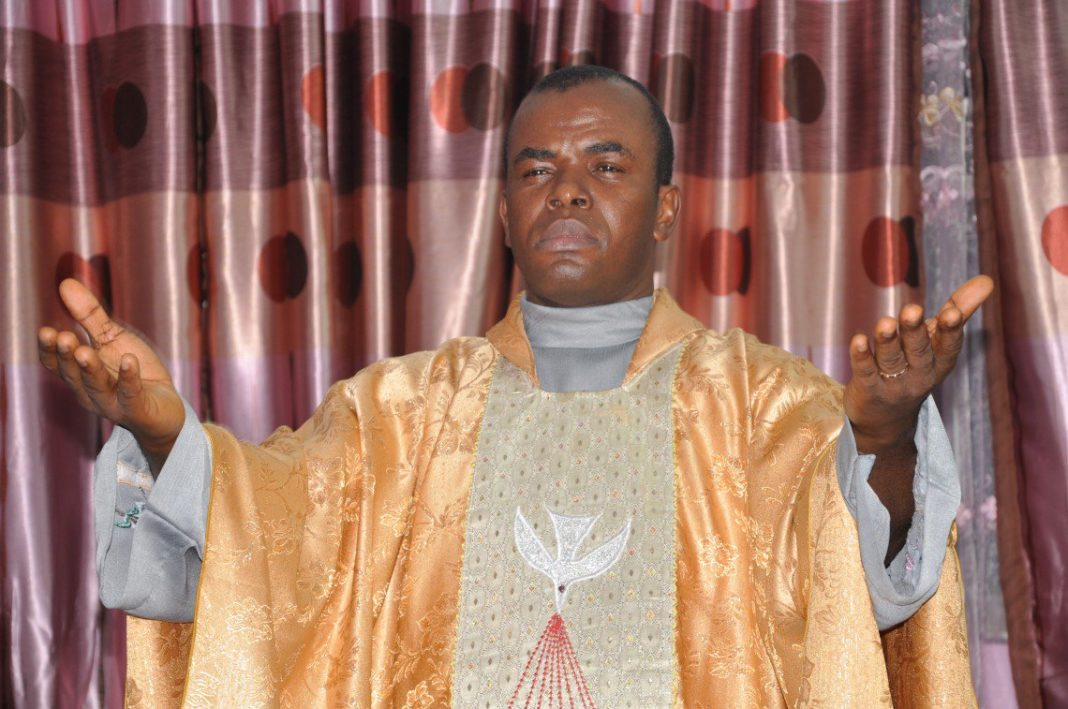 Father Mbaka speaks on God 'being angry with Buhari'