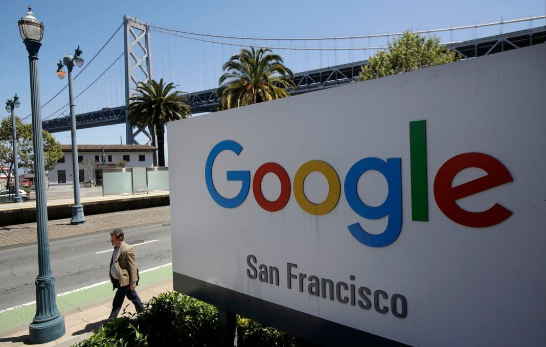 Google says only talk about work at work — and no politics