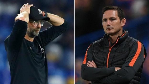 Champions League: A tale of two penalties - Jurgen Klopp & Frank Lampard on losses