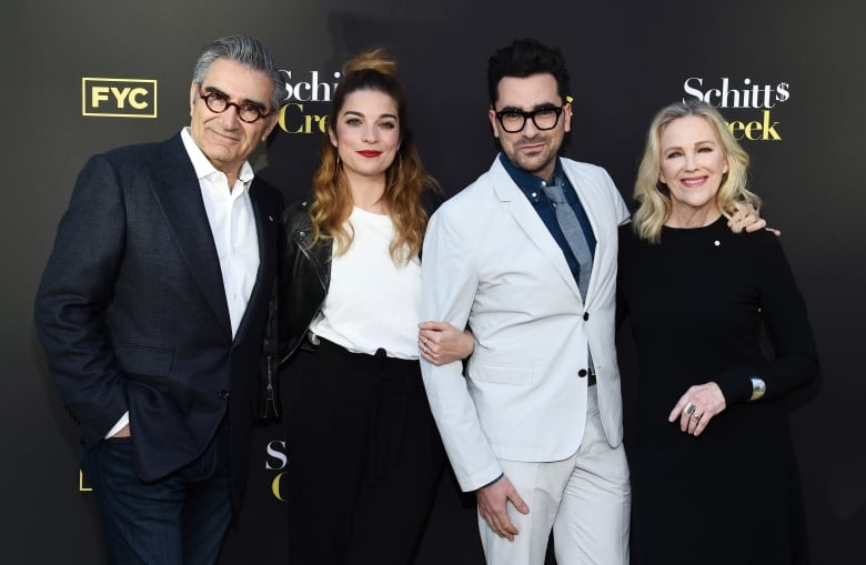 Dan Levy, 'out and proud' Schitt's Creek star, accepts GLAAD award