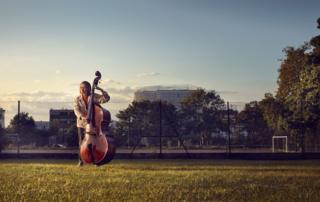 Musicians switch to outdoor rehearsal spaces