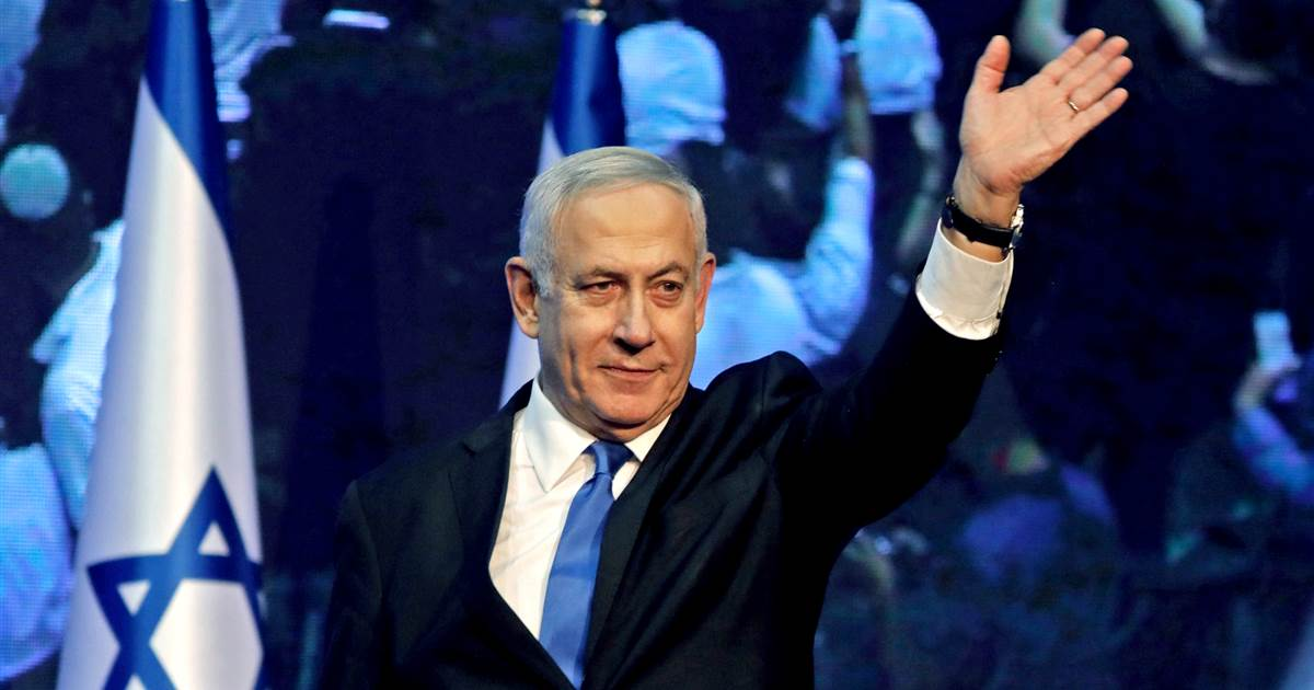 Netanyahu appears to fall short of a governing majority