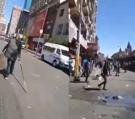 #Xenophobia: 'If you want war, we'll give you war' - Nigerians begin retaliation in South Africa (Video)