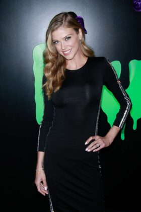 Adrianne Palicki – 'Huluween Party' at New York Comic Con in New York City