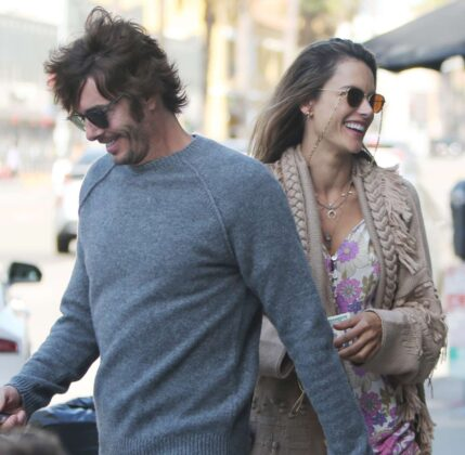 Alessandra Ambrosio in Shorts – Out for stroll in Venice