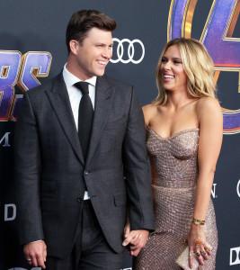 Aw! Scarlett Johansson Talks Colin Jost's 'Romantic' Proposal