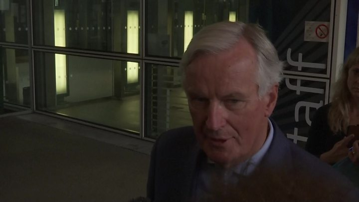 Brexit: EU and UK agree to 'intensify' talks