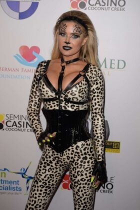 Carmen Electra – Fright Nights Halloween Costume Party in Coconut Creek