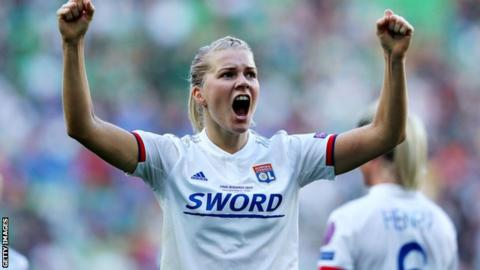 Football News : Ada Hegerberg Lyon striker breaks Women's Champions League goalscoring record