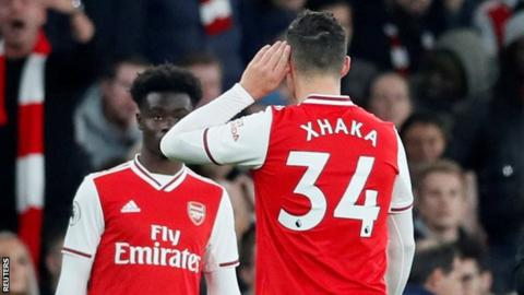 Football News : Granit Xhaka Arsenal to offer counselling to midfielder after fans' argument