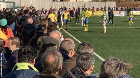 Football News : Haringey Borough v Yeovil: Police investigate as FA Cup tie abandoned after reports of racial abuse