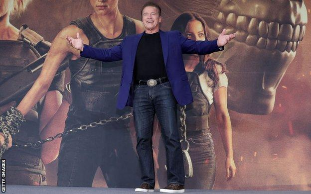 Arnold Schwarzenegger is the star of 'Terminator: Dark Fate'